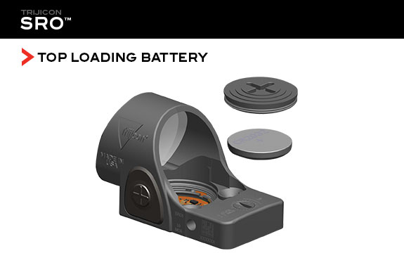 Trijicon SRO Battery